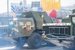 Défilé militaire à Kiev, Ukraine Image stock