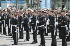 Défilé militaire Image stock
