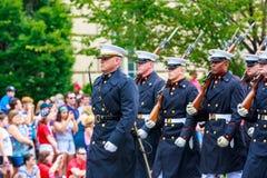 Défilé national 2015 de Jour de la Déclaration d'Indépendance Photographie stock libre de droits