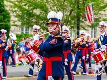 Défilé national 2015 de Jour de la Déclaration d'Indépendance Photographie stock