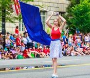 Défilé national 2015 de Jour de la Déclaration d'Indépendance Photo libre de droits