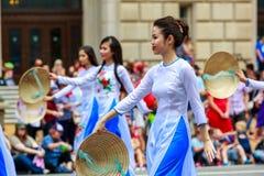 Défilé national 2015 de Jour de la Déclaration d'Indépendance Image stock