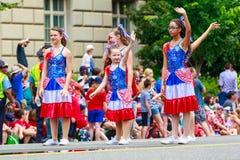 Défilé national 2015 de Jour de la Déclaration d'Indépendance Photos stock