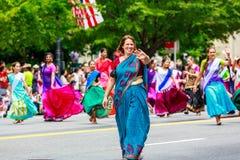 Défilé national 2015 de Jour de la Déclaration d'Indépendance Photo stock