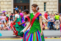 Défilé national 2015 de Jour de la Déclaration d'Indépendance Image libre de droits