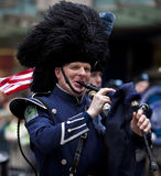 Défilé New York 2013 du jour de St Patrick Images libres de droits