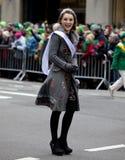 Défilé New York 2013 du jour de St Patrick Image libre de droits