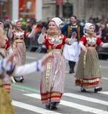 Défilé New York 2013 du jour de St Patrick Photos libres de droits