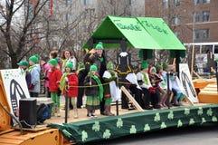 Défilé Ottawa de jour de rue Patrick Image stock