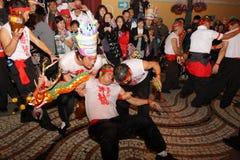 Défilé par le Macao, ville latine 2012 Photos stock