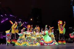 Défilé par le Macao, ville latine 2012 Photos libres de droits