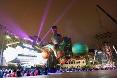 Défilé par le Macao, ville latine 2012 Image libre de droits