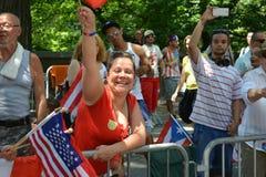 Défilé portoricain 2015 de jour Photo libre de droits