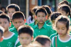 Défilé pour le jour sportif Photo stock