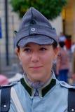 Défilé roumain d'armée à Bucarest, Roumanie Photos stock