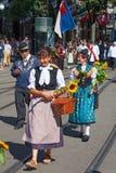Défilé suisse de jour national à Zurich Images stock