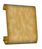 Défilement de papyrus Images libres de droits