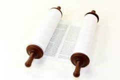 Défilement de Torah Images libres de droits