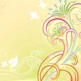 Défilement floral Image stock