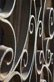 Défilements de fer travaillé à Venise, Italie. Images stock