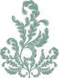 Défilements de lame de chêne illustration stock