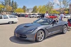 Défunt Chevrolet Corvette Convertible modèle Image stock