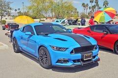 Défunt High Performance modèle Ford Mustang Images libres de droits