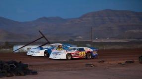 Défuntes courses d'automobiles modèles Image libre de droits