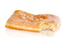 Dégagement d'un beignet de sucre photographie stock