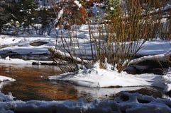 Dégel de ressort sur Fall River images stock