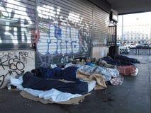 Dégradation urbaine à Rome, Italie photographie stock