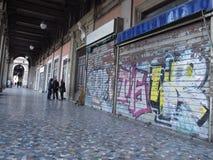 Dégradation urbaine à Rome, Italie photos libres de droits