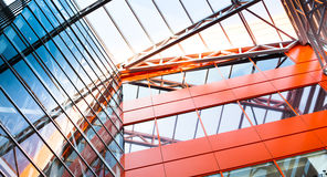 Dégrossissage Plaques de métal fenêtres isolées Photographie stock