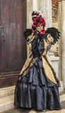 Déguisement vénitien Photos stock