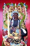 Déité chinoise de temple Image stock