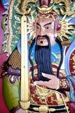 Déité chinoise de temple Photo stock