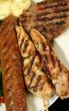 Déjeuner 5 de BBQ photographie stock