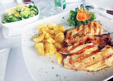 déjeuner Photo stock