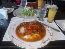 déjeuner Photos stock