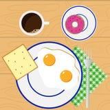 déjeuner illustration de vecteur