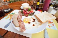 Déjeuner anglais images stock