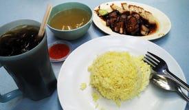 Déjeuner asiatique en Malaisie image stock