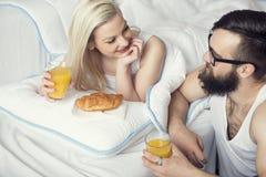 Déjeuner avec amour Images stock