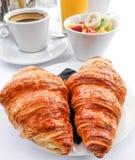 Déjeuner avec du café Photographie stock libre de droits