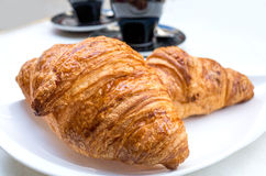 Déjeuner avec du café Photo libre de droits