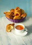 Déjeuner avec du thé Image stock