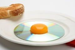 Déjeuner CD 3 Image stock