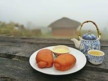 Déjeuner chinois Photo stock