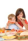Déjeuner délicieux Photos libres de droits