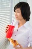 Déjeuner d'aliments de préparation rapide Images libres de droits